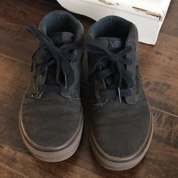 vans chaussures noir semi